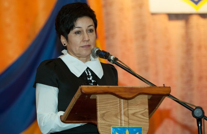 Новим головою Виноградівської РДА стала жінка (ФОТО)