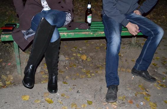 В Ужгороді міліціонери ловили продавців на продажі алкоголю неповнолітнім