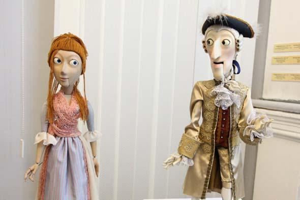 Ужгородцям показали виставу про прадавні ляльки
