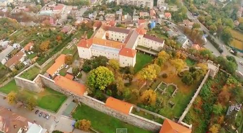 Старовинний Ужгород: вражаюча аерозйомка обласного центру з висоти пташиного польоту (ВІДЕО)