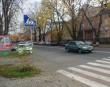 На одній з вулиць Ужгорода дорожній знак
