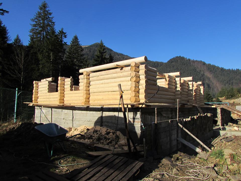 У Реабілітаційному центрі бурих ведмедів споруджують візит-центр (ФОТО)