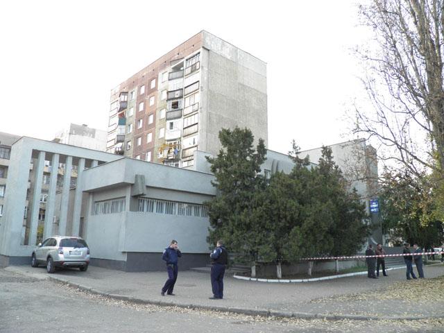 У будівлі Закарпатської торгово-промислової палати шукали вибухівку (ВІДЕО)