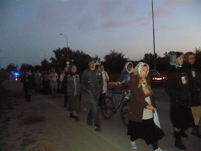 В ніч на 22 листопада відбудеться щорічний Хресний хід з Ужгорода в село Домбоки