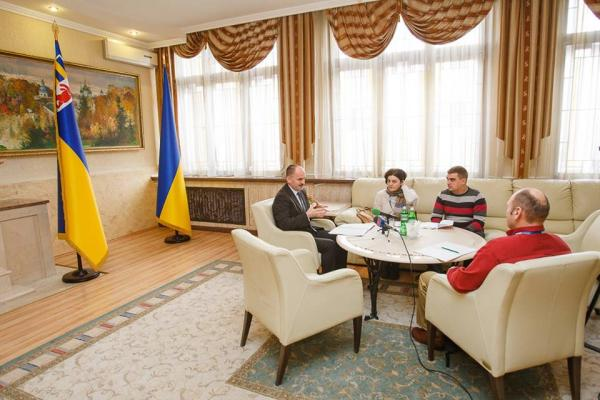 Голова ОДА Василь Губаль провів зустріч з представниками ОБСЄ