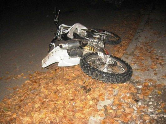 На Рахівщині мотоцикліст збив місцевого мешканця