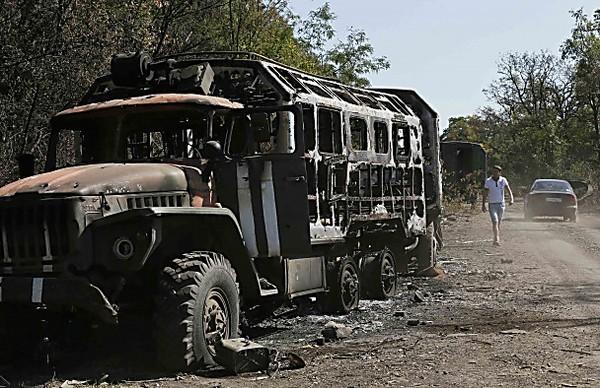 Вантажівка 128-ї гірсько-піхотної бригади підірвалась на ворожому фугасі: троє загиблих, двоє поранених