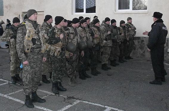 Закарпатські герої-гвардійці повернулись із зони АТО (ФОТО)