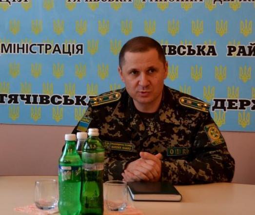 """Прикордонний відділ """"Солотвино"""" отримав нового керівника"""