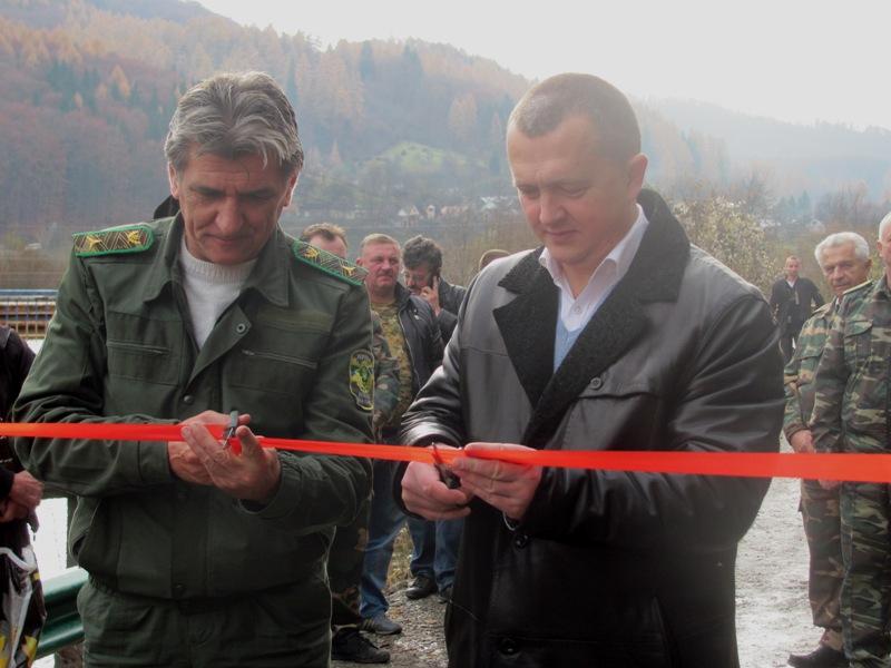 Гірські села Рахівщини з'єднала нова лісова дорога (ФОТО)