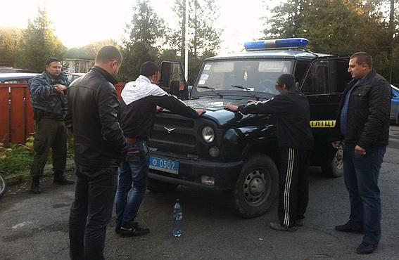На Ужгородщині затримали трьох крадіїв-туристів