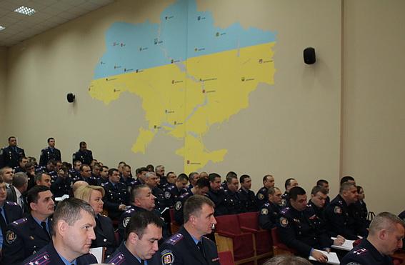 У Закарпатті звільнено кількох керівників райвідділів міліції