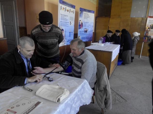 Жителі Малого Березного оздоровлювались на виставці