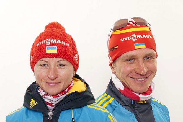 Валя Семеренко та Сергій Семенов здобули золото Різдвяної гонки з біатлону