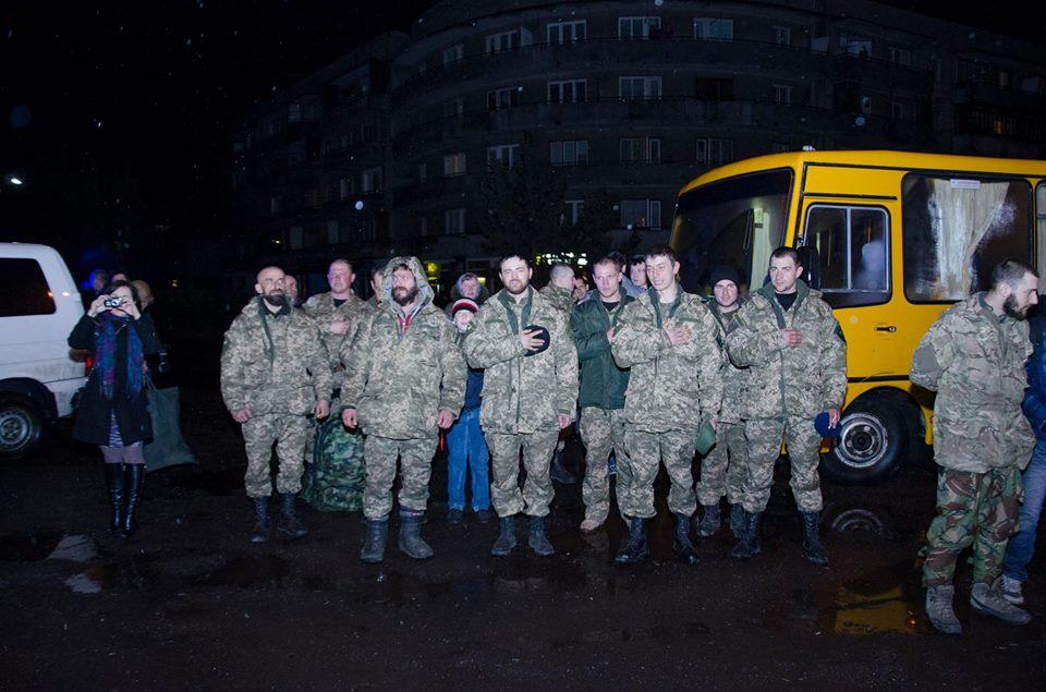 Перечинці радісно зустріли бійців 128-ої бригади (ФОТО)