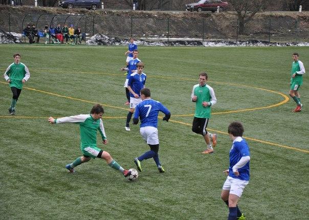 """Футбольна весна для молодіжки """"Говерли"""" розпочалась з поразки"""