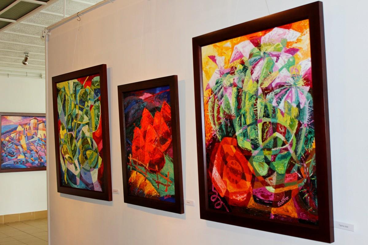 Іршавський колорист Василь Бобіта представив персональну виставку в Ужгороді