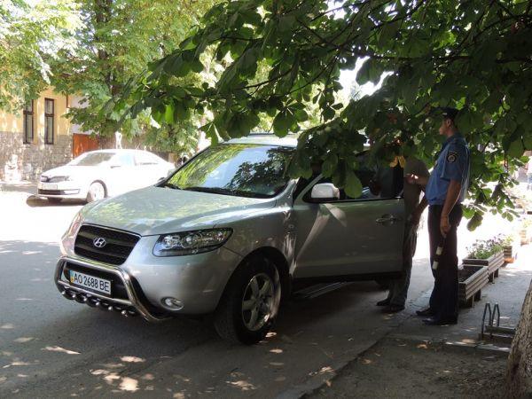 Працівники ДАІ штрафували у Берегові порушників правил паркування