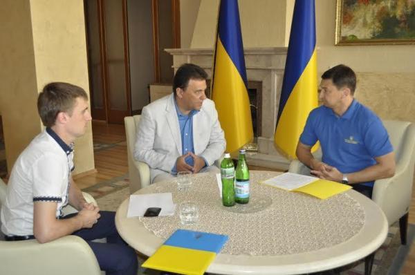 На Закарпаття завітав заступник міністра молоді та спорту України