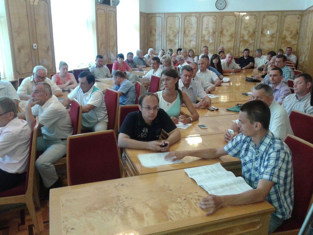 Представники закарпатського спорту зустрілись із заступником міністра