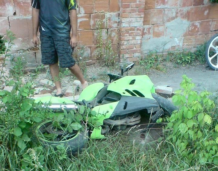 У Берегові в ДТП трагічно загинув мотоцикліст