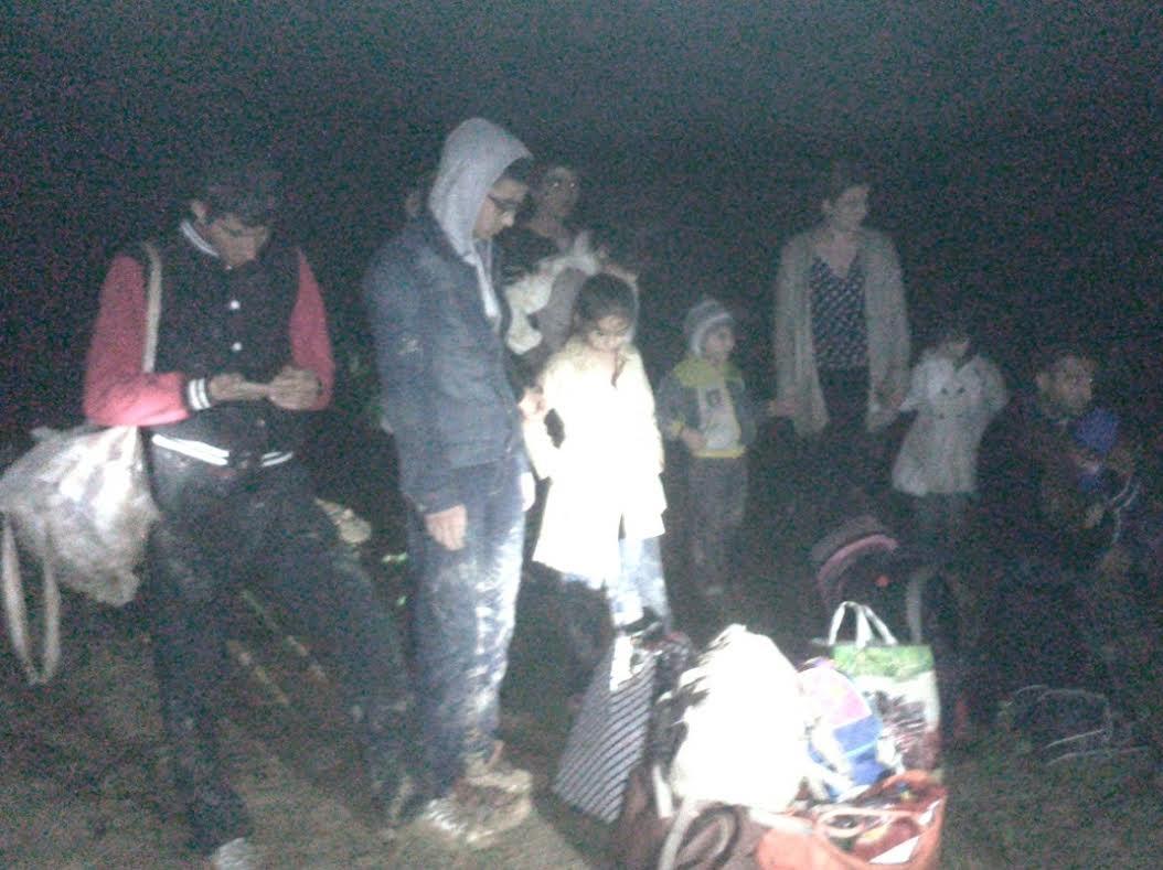 Неподалік словацького кордону закарпатські прикордонники затримали 11 нелегалів з Вірменії