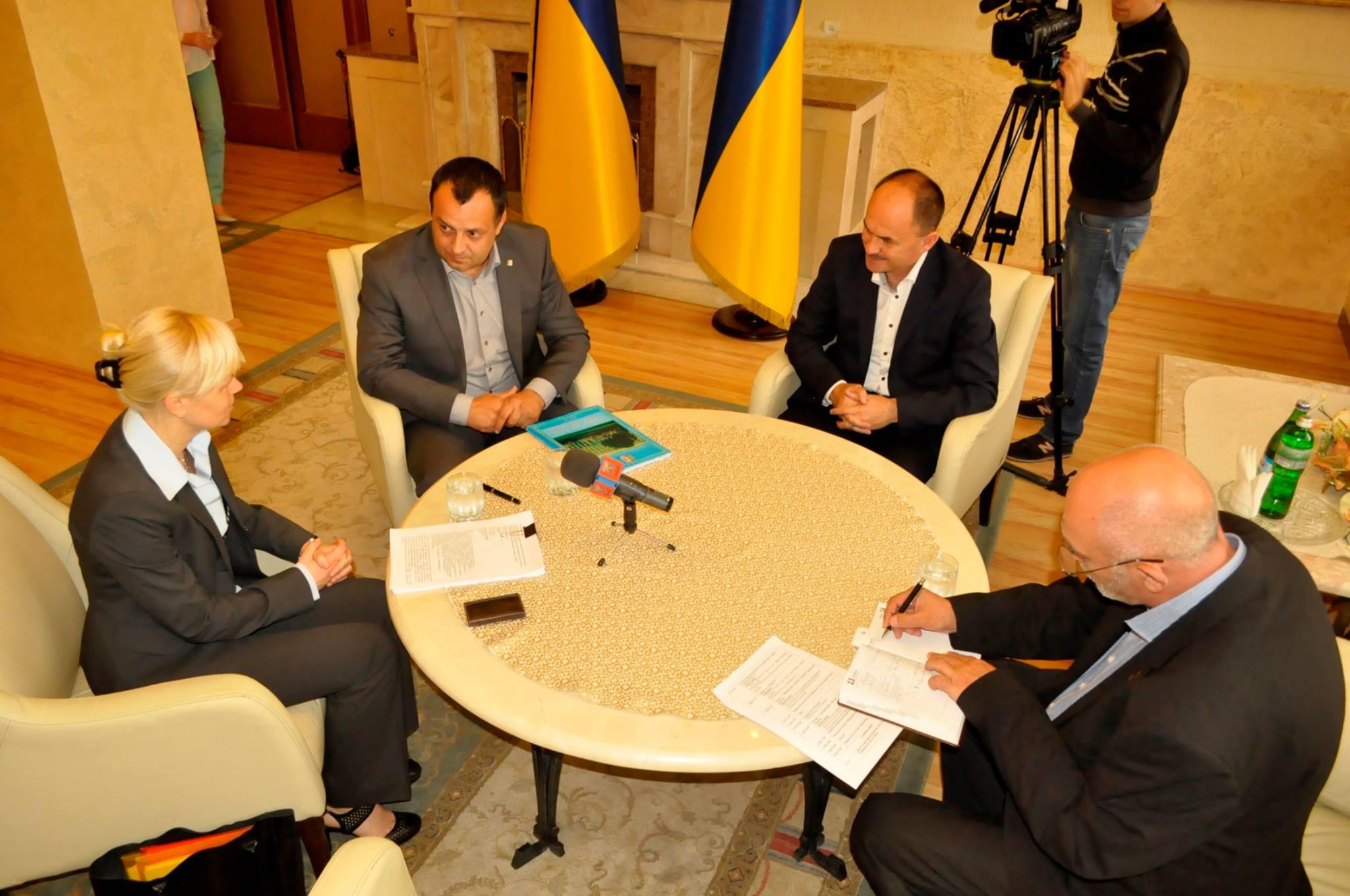 Водоканали Ужгорода, Мукачева та Берегова претендують на фінансові ресурси Європейського інвестиційного банку