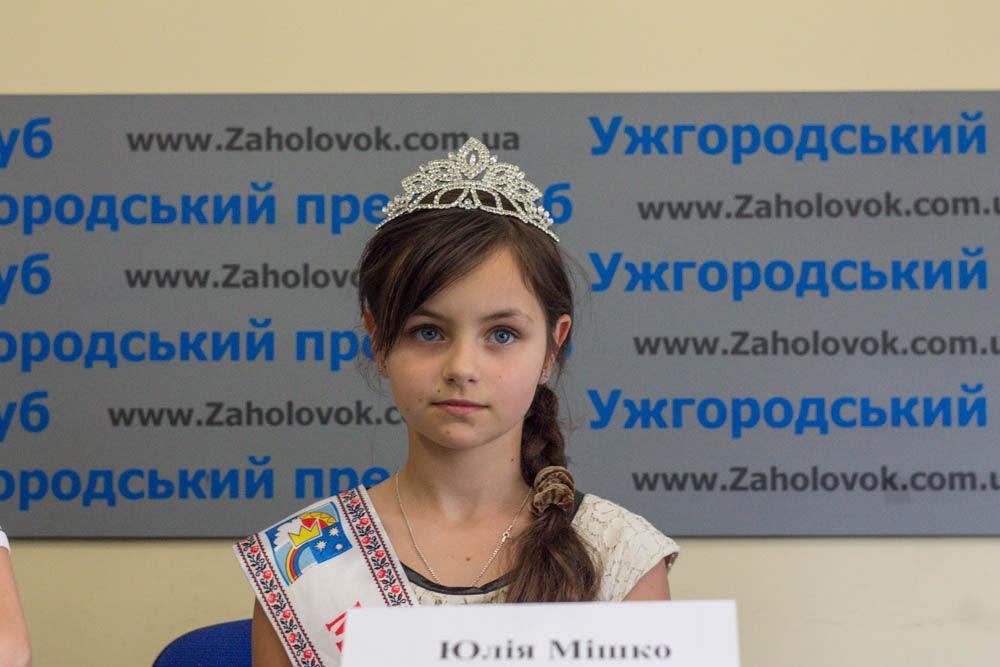 Маленька закарпатка представлятиме Україну на міжнародному модельному фестивалі в Англії