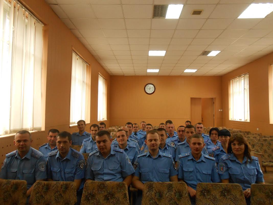 У Мукачівському міськвідділі міліції вшанували працю дільничних інспекторів