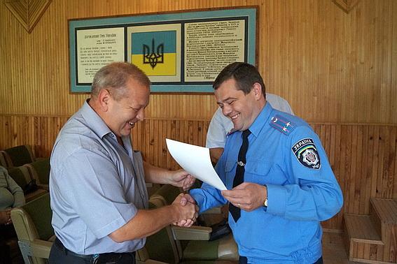 Іршавських дільничних інспекторів привітали з професійним святом