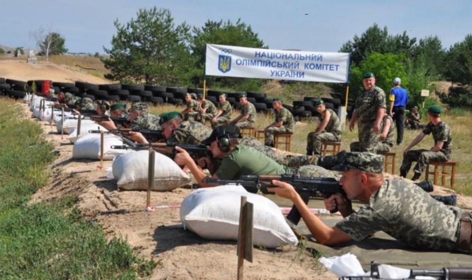 Мукачівські прикордонники стали першими на всеукраїнському чемпіонаті зі стрільби