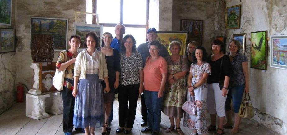 """У замку Сент-Міклош творче об'єднання """"Райдуга"""" презентувало власні творчі доробки"""