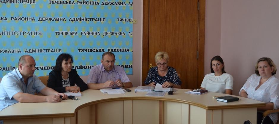 Тячівські чиновники провели нараду з питань прав дітей