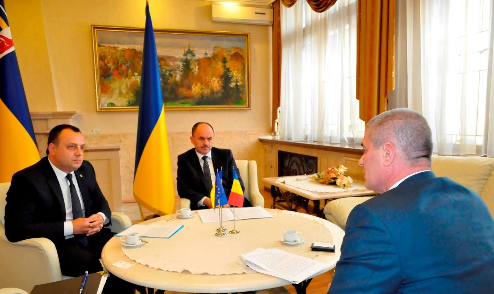 Посол Румунії в Україні завітав на Закарпаття