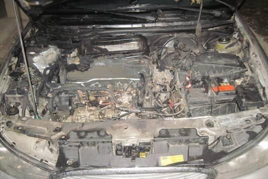Міліція озвучила попередню причину пожежі автомобіля у Великих Лучках