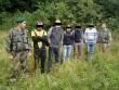 П'ятьох вихідців із Грузії затримали прикордонники при спробі нелегального перетину держрубежу