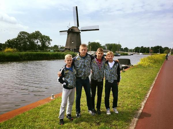 Закарпатські дзюдоїсти здобули чотири медалі на Міжнародних дитячих іграх у Нідерландах