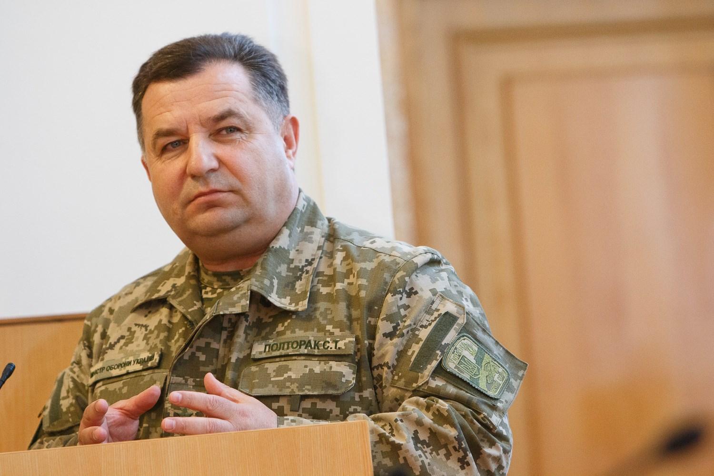 Звільнений Степаном Полтораком посадовець вважає дії Глави Міноборони піаром