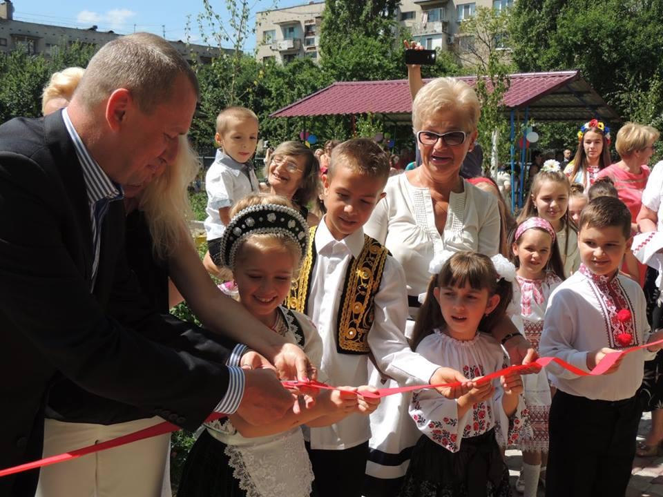 У Берегові урочисто відкрили оновлений дитячий садок