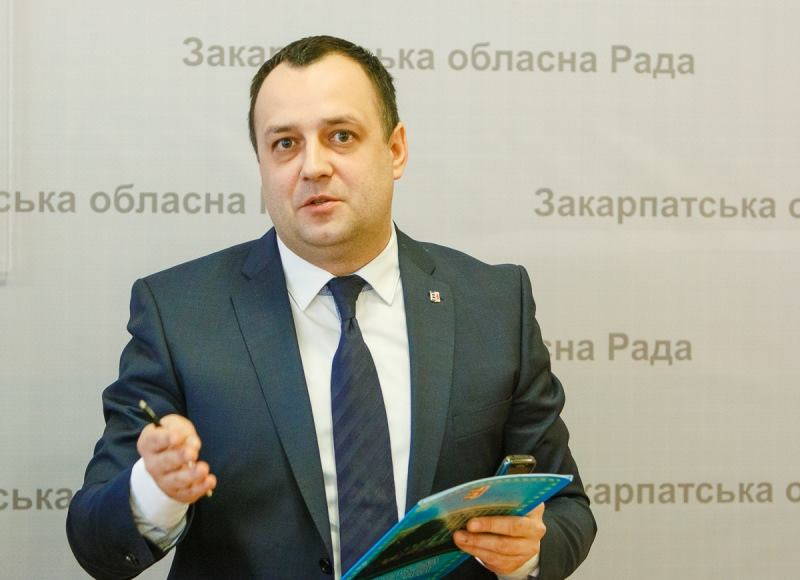 Голова Закарпатської облради радить міністру охорони здоров'я Квіташвілі піти з посади