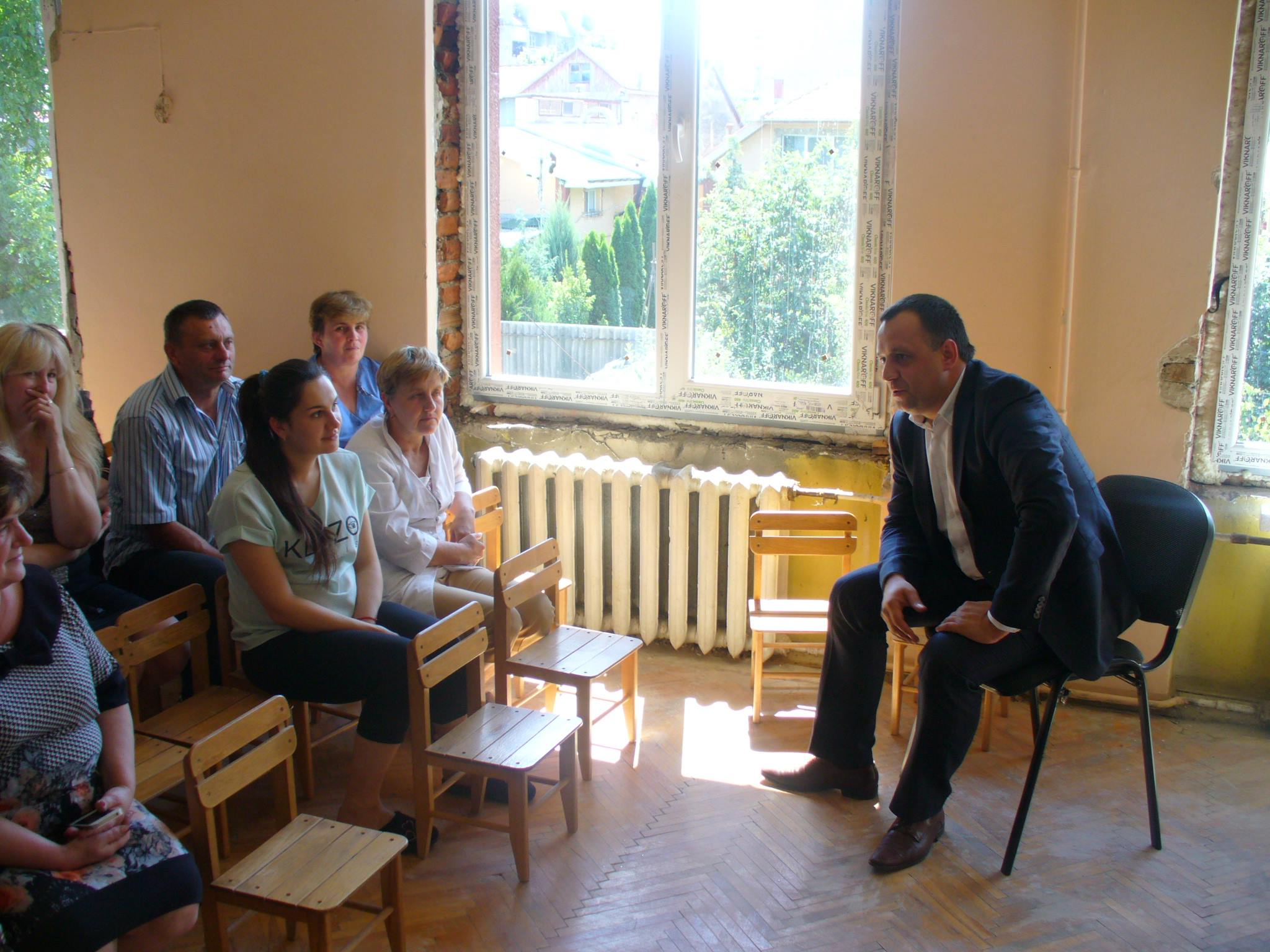 Голова Закарпатської облради відвідав ужгородський дитсадок №15