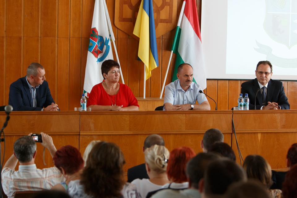 У Берегові обговорювали план об'єднання територіальних громад