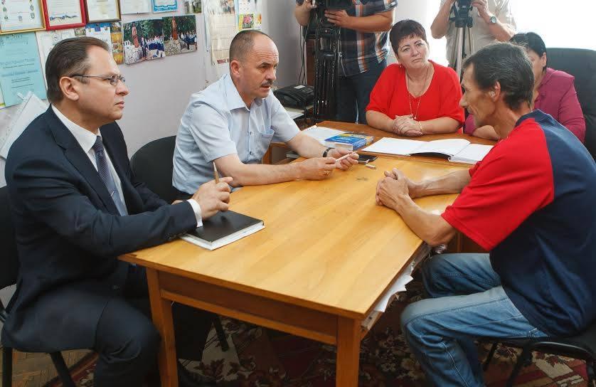 На Берегівщині Василь Губаль провів прийом громадян
