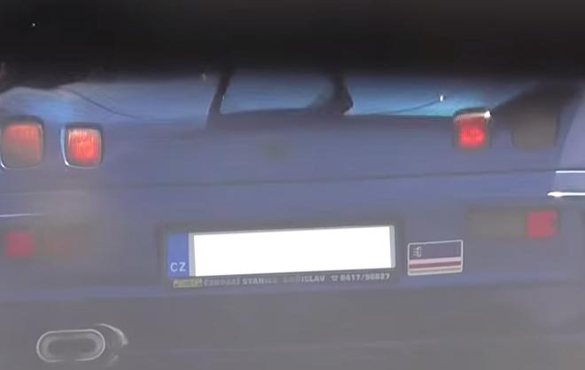 """На Тячівщині помітили автомобіль із наліпкою """"Закарпатська республіка"""""""