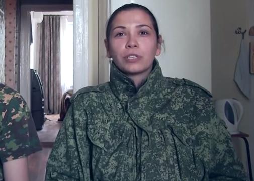 Громадянка Сербії, яка воює на боці терористів, стверджує, що вона в'їхала в Україну через Чоп та Ужгород