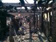 Причиною масштабної пожежі на ринку у Великому Бичкові стало загорання олії у фритюрниці