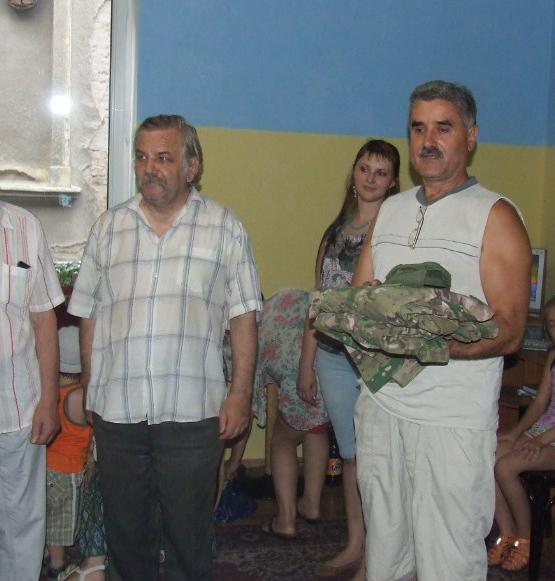 Пенсіонер із Берегова їде воювати в зону АТО
