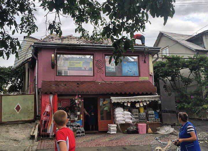 На Тячівщині горів магазин