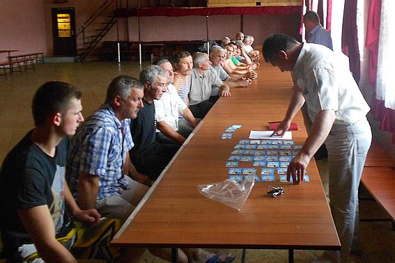 В селі Порошково почало функціонувати нове громадське формування «Самооборона»