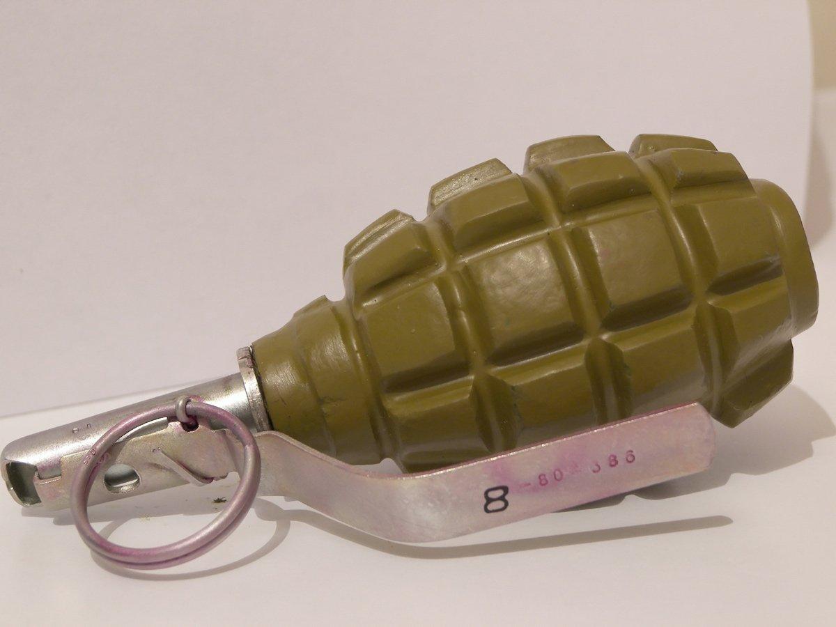 У Виноградові знайшли гранату Ф-1